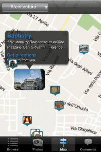 florence app screen shot
