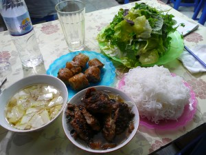 Bun cha, Hanoi