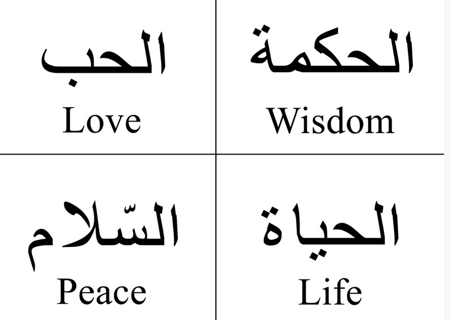 In case there was any question left about the absurd  damaging power    Arabic Writing Love
