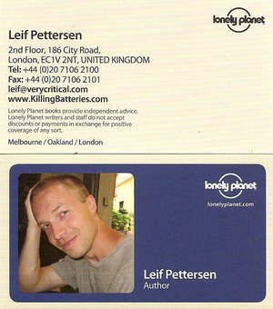 Hello New Lp Business Cards Goodbye Anonymity Killing