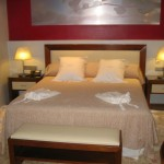 Hotel Mirador de Dalt Vila suite bedroom Ibiza