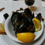 Mussels from Cantina Senese in Livorno