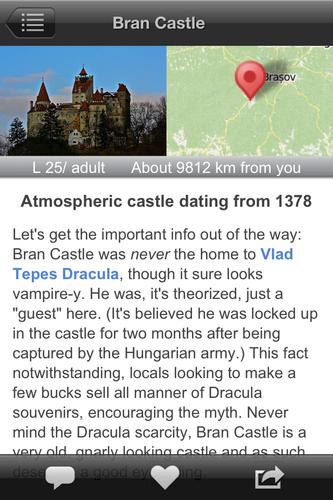 romania app screenshot