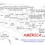 US map labeled by clueless Australian is hilariously wrong, but accurate