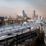 London hopes to build incredible 135-mile network of elevated bike paths