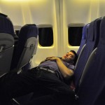 Man takes nap during flight, wakes up in dark, empty, locked airplane