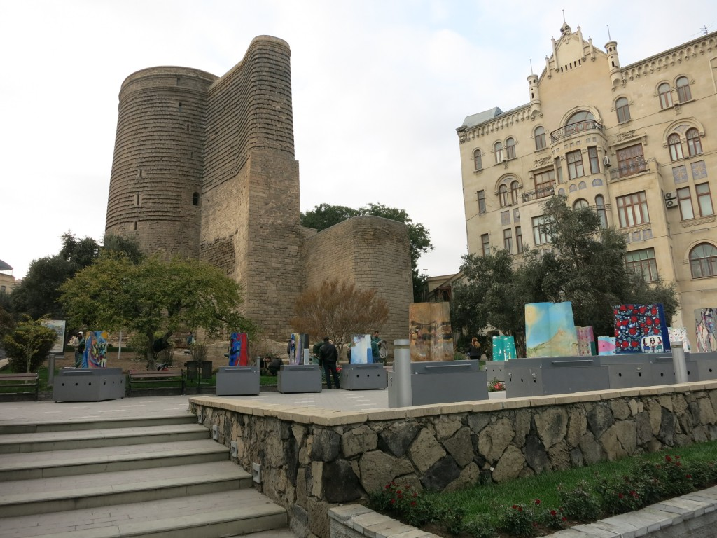 Maiden's Tower Baku Azerbaijan