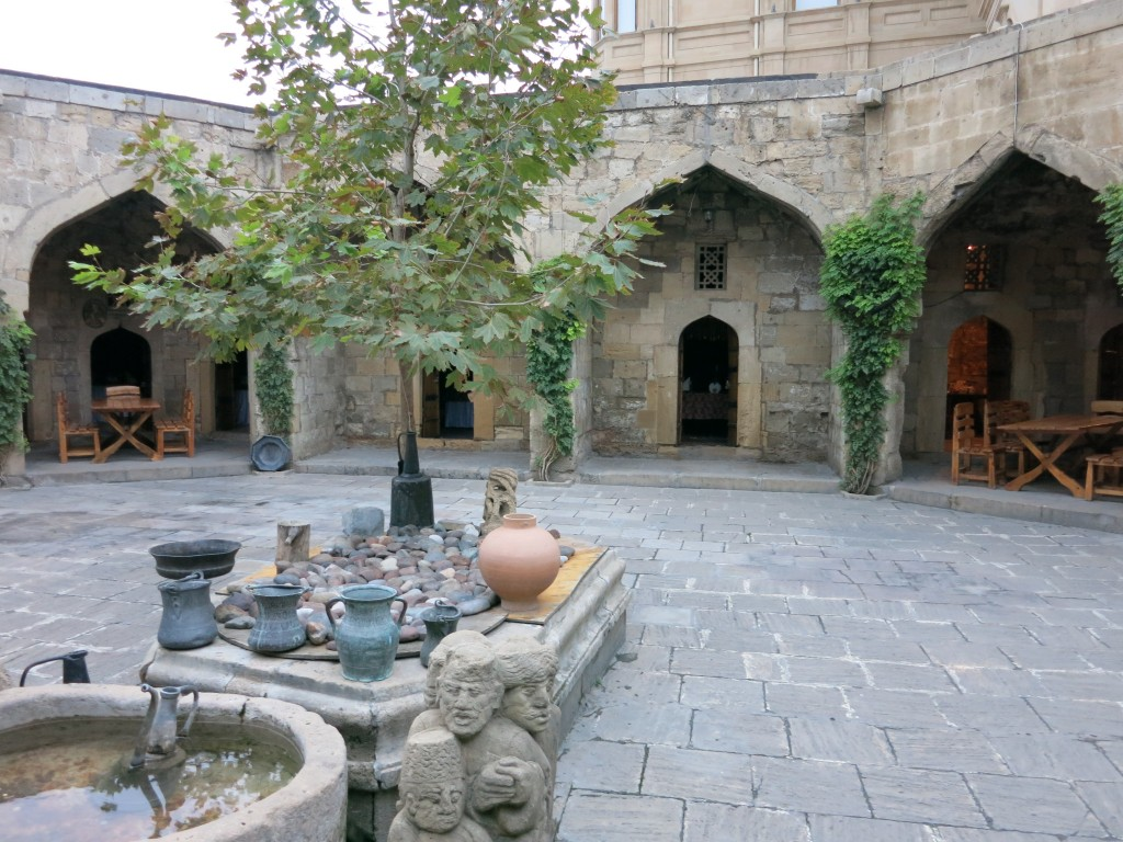 A 15th century caravansary, now serving as a restaurant